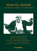 MARCEL MOYSE - THE COMPLETE WORKS OF THE GREAT FLUTIST - (5CD)