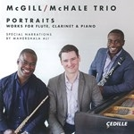 PORTRAITS WORKS FOR FLUTE, CLARINET & PIANO