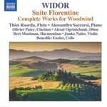 WIDOR : COMPLETE WORKS FOR WOODWIND