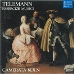 TELEMANN : ESSERCIZII MUSICI (Period Instr.)(4CD)