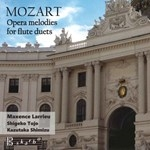 MOZART : OPERA MELODIES FOR FLUTE DUETS (2CD)