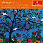 SIMPRE VIVO ! - SOUTH AMERICAN SONGS, PRELUDES & DANCES