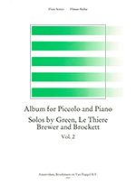 ALBUM FOR PICCOLO & PIANO,VOL.2 (ED.WYE)