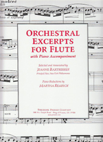 ORCHESTRAL EXCERPTS FOR FLUTE WITH PIANO