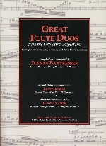 GREAT FLUTE DUOS FROM THE ORCHESTRAL REPERTOIRE (ED.BAXTRESSER)