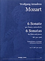 6 SONATE VOL.1 (KV301-303) (ED.HUNTELER)