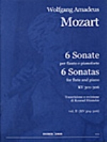 6 SONATE VOL.2 (KV304-306) (ED.HUNTELER)