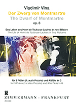 THE DWARF OF MONTMARTRE OP.8 (THE LIFE OF LAUTREC IN 2 PICTURES)