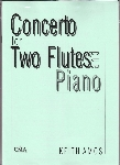 CONCERTO FOR 2 FLUTES & PIANO
