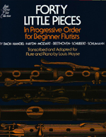MOYSE,L./40 LITTLE PIECES FOR BEGINNER