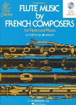 FLUTE MUSIC BY FRENCH COMPOSERS : PIANO ACC. CD