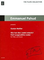 WER HAT DIES LIEDEL ERDACHT? : 5 SELECTED SONGS (ED.PAHUD)