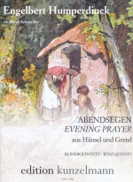 "EVENING PRAYER FROM ""HANSEL AND GRETEL"" SCORE & PARTS (ARR.SCHEIWILLER)"