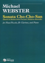 "SONATA CHO-CHO-SAN (BASED ON THEMES FROM PUCCINI'S ""MADAMA BUTTERFLY"")"
