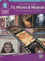 TOP HITS FROM TV, MOVIES & MUSICALS (WITH CD)