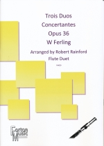 TROIS DUOS CONCERTANTES OP.13, PARTS (ARR.RAINFORD)