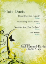 FLUTE DUETS : FLOWER DUETS AND OTHERS (ARR.EDMUND-DAVIES & ALLEY)