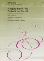 ADAGIO FROM THE PATHETIQUE SONATA (THEME FROM MOV.II, NO.8 OP.13) SCORE & PARTS (ARR.YASINITSKY)