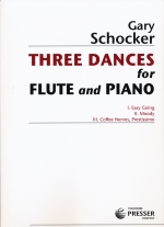 THREE DANCES FOR FLUTE & PIANO