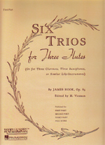6 TRIOS,OP.83, SET OF PARTS