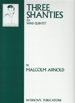 THREE SHANTIES,OP.4, PARTS