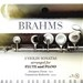 BRAHMS : 3 VIOLIN SONATAS ARRANGED FOR FLUTE AND PIANO