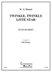 TWINKLE, TWINKLE LITTLE STAR (ARR.MORGAN)