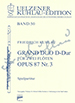GRAND DUO D-DUR OP.87 NR.3, SCORE